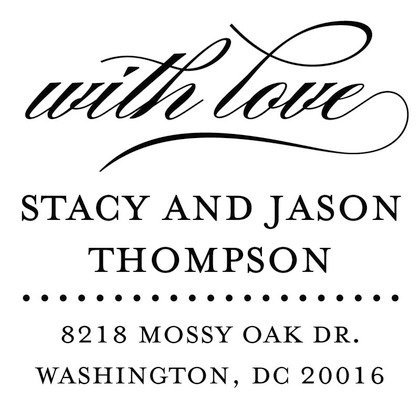 Stamps - Affectionate Address by Wedding Paper Divas