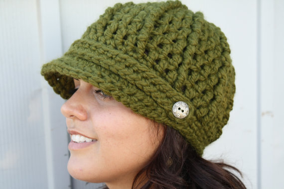 Free Crochet Newsboy Hat Pattern Dancox For
