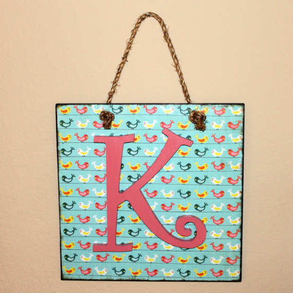 Personalized Custom Letter Wall Han.. on Luulla