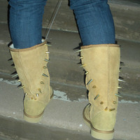 Spiked Winter Boots