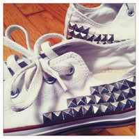 How to STUD your CONVERSE at home! | B Headed