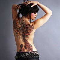 Getting Artsy / Japanese+Phoenix+Tattoo61.jpg 364×500 pixels