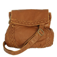 Whipstitch Cross Body Bag | Shop Accessories at Wet Seal