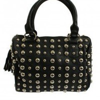 LOVE Silver Stud Bag - Love
