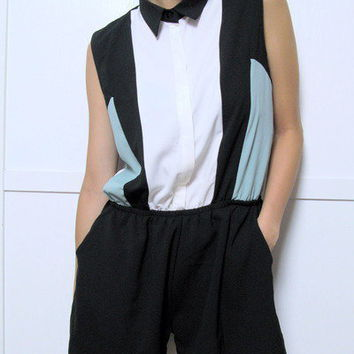 Color Block Jumpsuit
