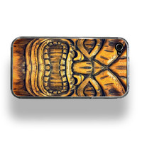 Tiki - Metallic iPhone 4 or 4S Case by ZERO GRAVITY