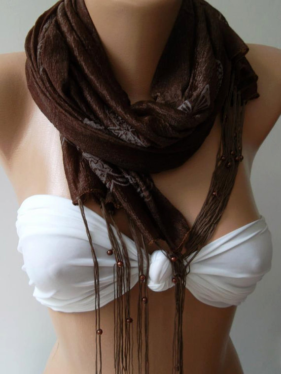 Brown/Elegance Shawl