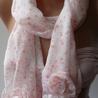 Pink - Elegance Shawl
