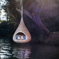 Dedon: Nestrest - Hanging lounger - chalk