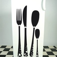 Silverware Wall Decals