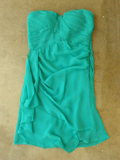 Pleats and Ruffles Dress in Teal [2504] - $36.00 : Vintage Inspired Clothing & Affordable Summer Dresses, deloom | Modern. Vintage. Crafted.
