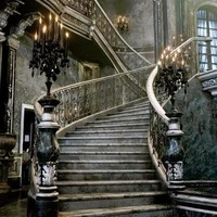 Favorite Places and Spaces / haunting staircase