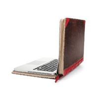 Twelve South BookBook, 15-inch Hardback Leather Case for 15-inch MacBook Pro, Red