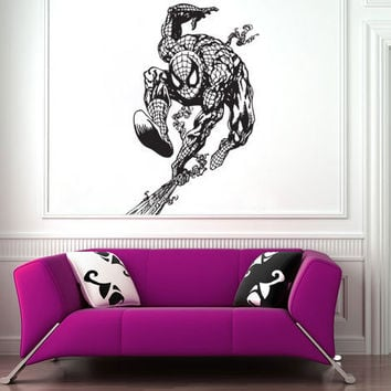 Spiderman Vinyl Wall Art Decal  WD-0507