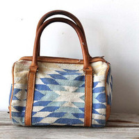 Woven Leather Doctor Bag