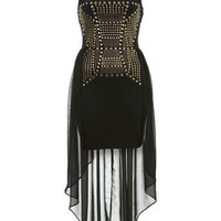 Petites Studded Maxi Dress - New In