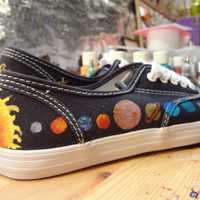Solar System Shoes MADE TO ORDER