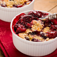 Berry Cobbler with Boysenberries Recipe - Choose Me. Pick Me. Love Me.