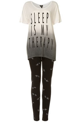 Sleep Therapy Tee And Leggings - Nightwear - Lingerie & Nightwear  - Clothing