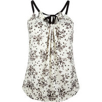 FULL TILT Floral Ribbon Womens Tank 196647151 | Tops | Tillys.com