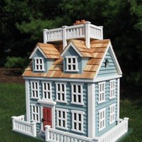 Nantucket Colonial Birdhouse NEW
