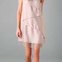 BCBGMAXAZRIA Celine Cascade Dress