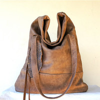 Luella/// in Toasted Brown Leather