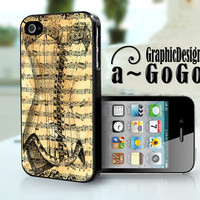Steam Punk Corset iphone 4 case, original design, custom cell phone case