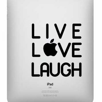 Live Love Laugh Ipad Decal - UK Sel.. on Luulla