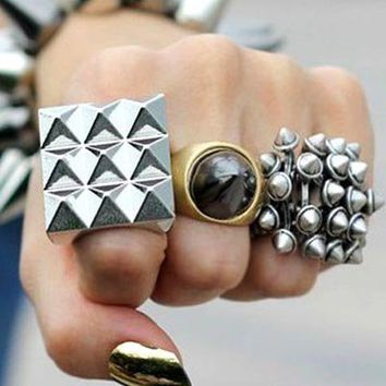 Punk Style Ring [AR0604] - $15.99 :