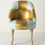 Painted Bias Armchair