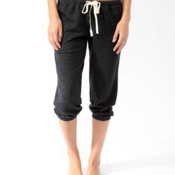 French Terry Drawstring PJ <br>Capris