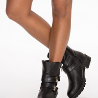 Biker Boot - River Island - Black - Everyday Shoes - Shoes - Women - Nelly.com