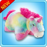 Pillow Pets®  Folding Plush :: Rainbow Unicorn - My Pillow Pets® | The Official Home of Pillow Pets®