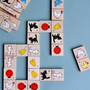 Wooden Animal Domino Set - Kittens, Chicks, Bunnies, Ducks, Butterflies, Ladybugs