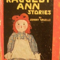 Vintage Children's Book - Raggedy Ann Stories by Johnny Gruelle, 1947