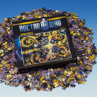 BBC America Shop - Doctor Who: Starry Night TARDIS Jigsaw Puzzle