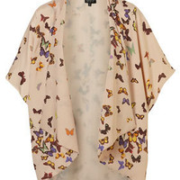 Multi Butterfly Print Kimono - New In This Week - New In - Topshop USA