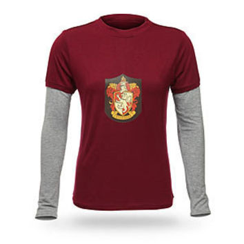 Hermione's Gryffindor Long-Sleeve Shirt