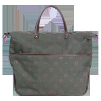 canvas totes Getaway Bag Green-Ecosusi