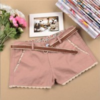 Mori Summer Collection Shorts Pink