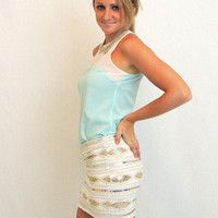 Sundance Sequin Skirt -  $45.00 | Daily Chic Bottoms | International Shipping