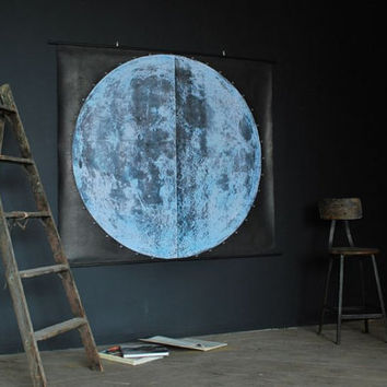 Very Large Moon Chart (signed)