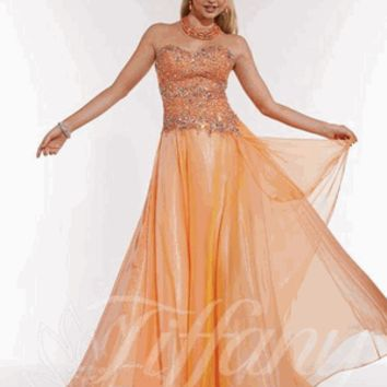 Tiffany Exclusive Style 46942 Size 10 Mango and Size 4 Sangria