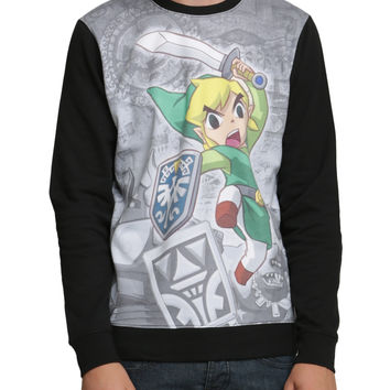 The Legend Of Zelda: Spirit Tracks Crewneck Pullover