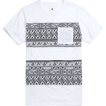 On The Byas Todd Jacquard Crew T-Shirt - Mens Tee