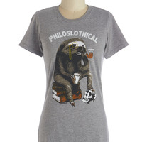 ModCloth Critters Mid-length Short Sleeves Mammalian Metaphysics Tee