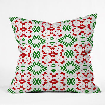 Lisa Argyropoulos Holiday At The Lodge Throw Pillow