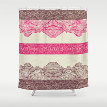 Elevate Shower Curtain by rskinner1122