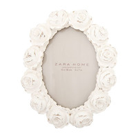 Oval Roses Frame | ZARA HOME United States of America
